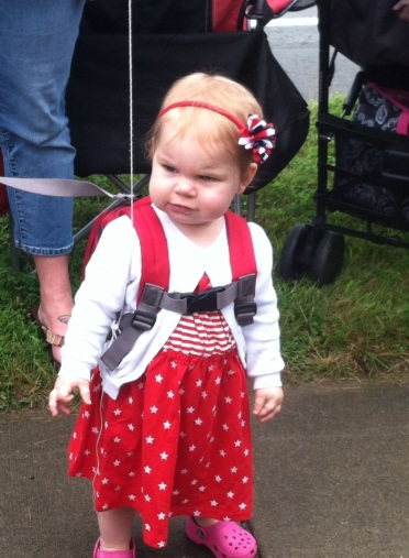 Fee at the 4th of July Parade in Mayville