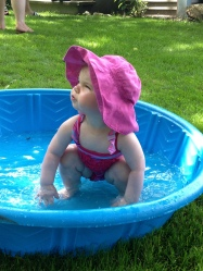 Fee in the wading pool