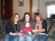 Family photo, cousins, Thanksgiving, sisters