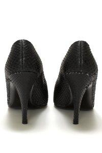Black Snakeskin Pumps, shoes, high heels, pumps